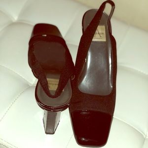 Vintage Square Toe Shoes